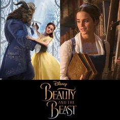 Here is a 1st LOOK at Emma Watson as Belle and the Beast from the live action Beauty and the Beast movie which will hit the big screen on March 7th, 2017.