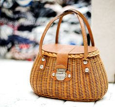 I love basket bags! They look great and smell good too!