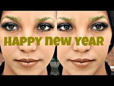 COLLAB WITH NEWLIFEMEJIA | NEW YEARS EYE PARTY MAKEUP LOOK - YouTube