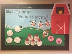 ᶠᴬᴿᴹ ᴬᴺᴵᴹᴬᴸˢ Bilduppgift i tema Bondgården Farm Animal Crafts, Farm Crafts, Daycare Crafts, Preschool Crafts, Farm Animals, Toddler Crafts, Crafts Toddlers, Preschool Farm, Farm Bulletin Board