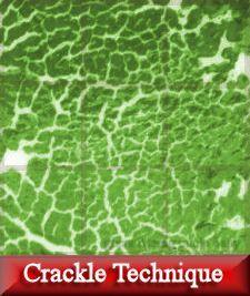 crackle technique, crackle glass, fiber paper, confetti, frit