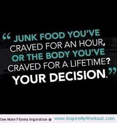 make that decision... #fitness #healthy #quote