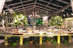 Festas e eventos em Niterói/RJ | Maison Cascade - Ambientes Diferenciados com Salões de Cristal, Piscina e Praia. Veja