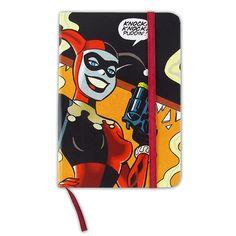 Caderneta Harley Quinn