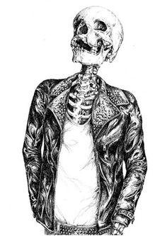 skull + punk = My style