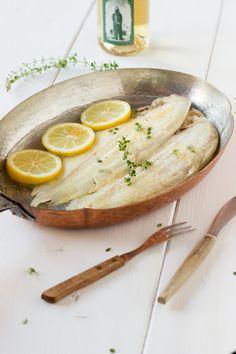 Recette de sole meunière au thym citronné