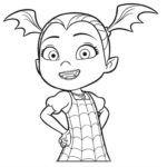 Disney Junior Vampirina Coloring