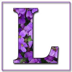 Capital+Letter+L+Free+Scrapbook+Alphabet+Purple+Flowers.jpg 1,200×1,200 pixels