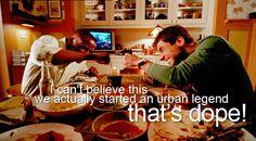 I wanna start an urban legend ha :)