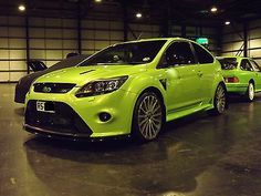 FORD FOCUS   RS        ULTIMATE GREEN    - http://www.fordrscarsforsale.com/2767