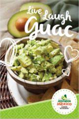 Download your FREE Live Laugh Guac recipe e-book.