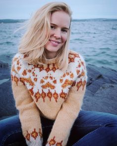 Icelandic Sweaters, Christmas Sweaters, Knitwear, Knit Crochet, Hair Beauty, Pullover, Clothes For Women, Knitting, Unique