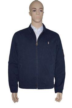 Polo Ralph Lauren Harrington Jacket Blouson Cotton Navy XX Large BNWT Superb #RalphLauren #BomberHarrington