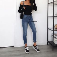 5eba4d0a1ffa0 10 Best Off the Shoulder Top Outfit images in 2017 | Casual outfits ...