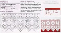 Filet heart curtains (looks like a flower to me) with diagram - Cortinas a crochet