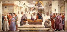 Résurrection de l'enfant de la famille Spini,  Domenico Ghirlandaio