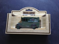 Lledo 1934 Dennis Delivery Van in Kent County War Time Library Livery -  34006