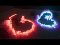 Unity VFX - Aura and Ground Effects - YouTube