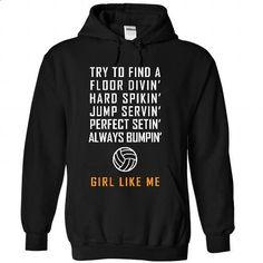 Volleyball Girl Like Me - teeshirt dress #tee #shirt