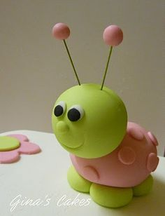 *SORRY, no information as to product used ~ Top That!: Ladybug 1st Birthday Cake