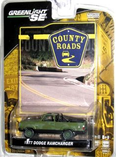1977 Dodge Ram Charger Greenlight COUNTY ROADS Series 4 1:64 scale Camoflauge #GreenLight #Dodge