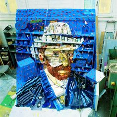 Fantastic Anamorphic Art Made of Found Objects by Bernard Pras