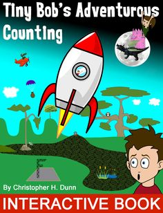 Tiny Bob's Adventurous Counting - My first book!...available in the Apple iBook store.