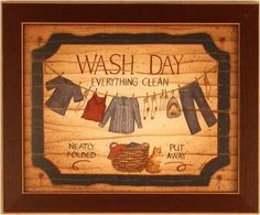 Wash Day Laundry Room Decor Linda Spivey Framed Print by Framed Art by Tilliams, http://www.amazon.com/dp/B000Y116SK/ref=cm_sw_r_pi_dp_6mAdrb047B5CY