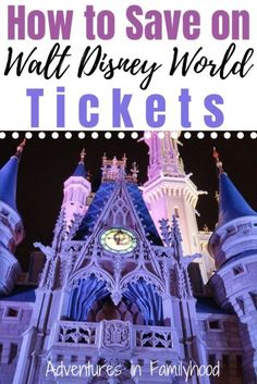 Here's how to get the best possible deal on your Disney World tickets for your next vacation to the Most Magical Place on Earth. Walt Disney World Tickets, Disney World Theme Parks, Walt Disney World Vacations, Disney Trips, Kids Zoo, Blizzard Beach, Disney Planning, Trip Planning, Orlando Resorts