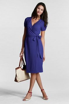 I'm going to snatch this great wrap dress up as soon as it goes on sale. Love the color.