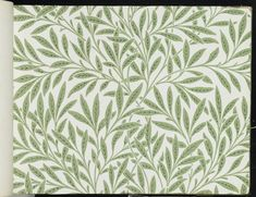 William Morris and Company. Wallpaper Sample Book, before 1917. Printed paper, 21 1/2 x 14 1/2 in. (54.6 x 36.8 cm). Brooklyn Museum, Purchased with funds given by Mr. and Mrs. Carl L. Selden and Designated Purchase Fund, 71.151.1 (Photo: Brooklyn Museum, 71.151.1_page024_PS1.jpg)