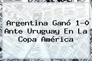 http://tecnoautos.com/wp-content/uploads/imagenes/tendencias/thumbs/argentina-gano-10-ante-uruguay-en-la-copa-america.jpg Argentina. Argentina ganó 1-0 ante Uruguay en la Copa América, Enlaces, Imágenes, Videos y Tweets - http://tecnoautos.com/actualidad/argentina-argentina-gano-10-ante-uruguay-en-la-copa-america/
