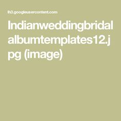 Wedding Album, Image