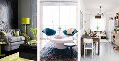 Awangardowe wnętrza małych pomieszczeń urządzone w stylu nowoczesnym