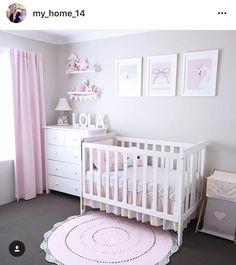 268 Likes, 45 Comments - Jo Ferguson ( - - Best Baby Girl Nursery ideas Baby Nursery Decor, Baby Decor, Nursery Room, Kids Decor, Nursery Ideas, Home Decor, Baby Boy Rooms, Baby Bedroom, Girls Bedroom