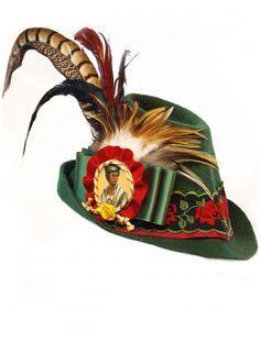 Hansel Y Gretel, Alpine Village, Green Fashion, Hat Making, Merino Wool, Folk Art, Germany, Traditional, My Style