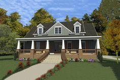 House Plan 63-391 Nice layout but would have to make it ground level.