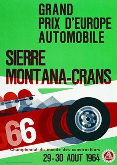 European Automobile Grand Prix Sierre Montana-Crans http://www.vintagevenus.com.au/products/vintage_poster_print-tr248