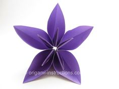Origami Kusudama Morning Dew instructions