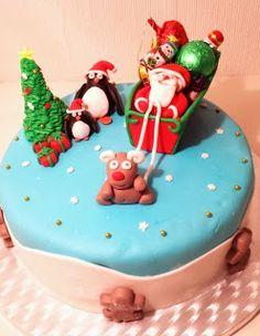 Santa's Christmas Cake