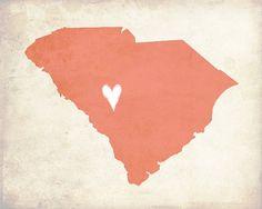My Heart's in South Carolina