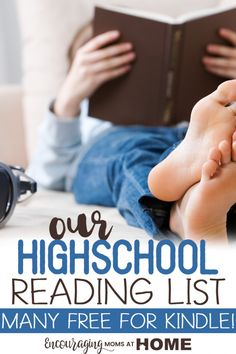High School Reading List - what will you have your students read? This is our list -- classic books great literature and important books about our faith we think our kid should read before they graduate. Many of these books are free on Kindle! Homeschool High School, High School Books, High School Reading, High School Literature, Student Reading, In High School, Homeschool Curriculum, High School Students, High School Seniors