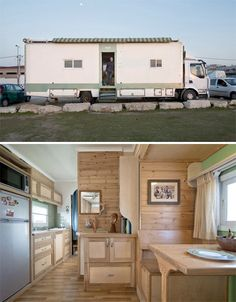 Converted Solar Truck Home 2