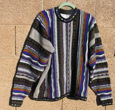 558ba7164f7a4 Vintage ZACCHAEUS Collection Mexico Men s Sweater   Size XLT Tall Mens  Sweater   Cosby Coogi Style