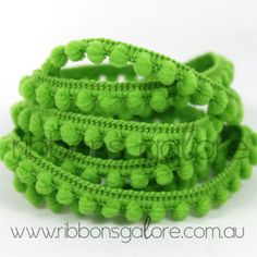 apple baby pom pom trim  http://www.ribbonsgalore.com.au/shop/index.php?main_page=index&cPath=65_202