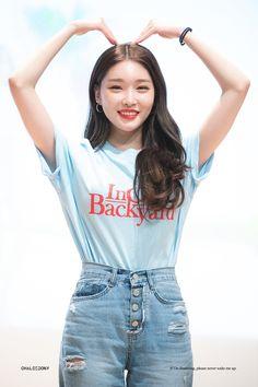 Her Music, Kpop Girls, Girl Group, Denim Skirt, Korean Fashion, Singer, Street Style, Queen, Crop Tops
