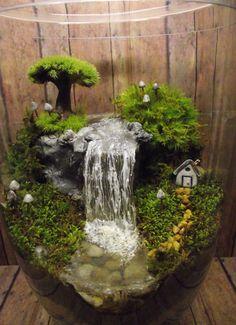 Een miniatuur waterval vijver of rivier toevoegen aan door GypsyRaku