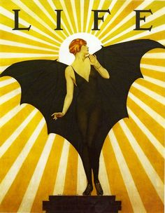 Coles Phillips Cover of Life Magazine, 1927