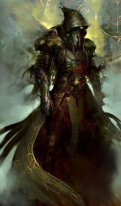 Clavicus il Profeta. Finalmente, anche il Profeta in persona sembra essere pronto a schiacciare con il suo soverchiante potere le Zanne. L'energia che sprigiona trasmette una sensazione d'impotenza e rabbia, ma non alle sue seguaci, le quali sembrano esaltate dalla sua presenza sul campo di battaglia.