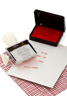 Ink of Me Fondly Stamp Set